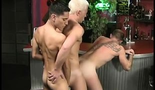 Hairy gay stripper loves to get rimmed in 4 episode