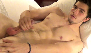 In Phoenix straight boy Jake looked so damp that we just wanted to film him jacking off