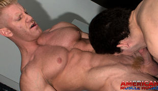 Johnny V is back with Drake Tyler. Johnny topping is scarcely popular and he definitely favourite to get a piece of this hot ass