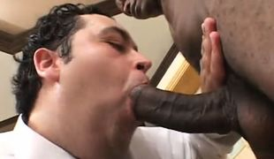 Chubby gay thrats huge black cock