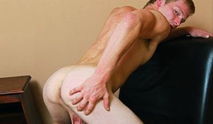 College Dudes - Travis Perry busts a nut