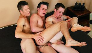 College Dudes - Brody, Carter and Rick
