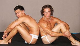 College Dudes - Troy Gabriels and Leo Donis