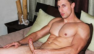 College Dudes - Tyler Dorn busts a nut