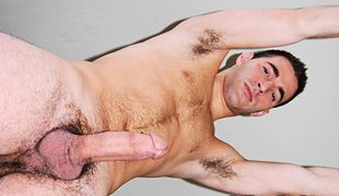 College Dudes - Trevor Hall busts a nut