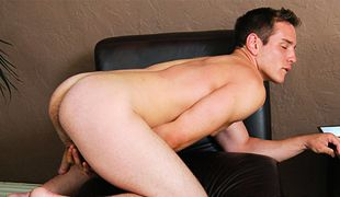 College Dudes - Dylan Roberts busts a nut