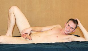 College Dudes - Shane Busts A Nut