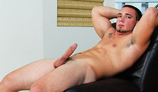 College Dudes - Blake Busts A Nut