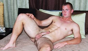 College Dudes - Ian Busts A Nut