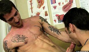 Ryan & Jake Cock Sucking is Fun