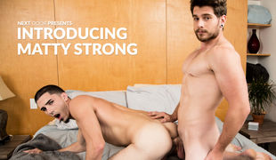 For anyone who missed his solo debut, Florida guy Matty Sturdy is agone for his official introduction, as he has his first boy experience on camera
