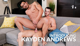 Genus amateur to the adult industry, Kayden Andrews is total of obsession and energy, with a small side of anxious nerves as this dude is set to make