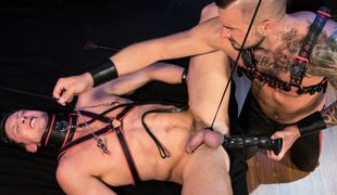 Pierce Paris has been fantasizing about being Master Dolf Dietrich's fucking slave