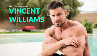 Vincent Williams is a muscle fixed stud from Phoenix, here to heat things up with a fiery solo