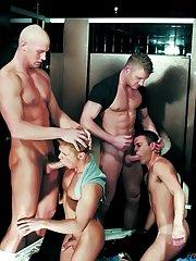 Trent Atkins - Ken Houser - Tommy Brandt - Danny Vox - Maxx Diesel in Gay XXX Pictures