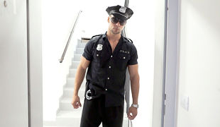 Captain Angelo answered a domestic disturbance call that lead him to a eminent local porn producer