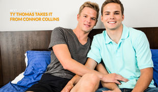 Mr. Next Door nominee Ty Thomas eagerly awaits the ebb ahead to establish messing around with Connor Collins