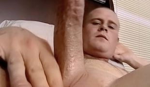 Gorgeous Keith returns to feed another guy his hard cock and hot load!