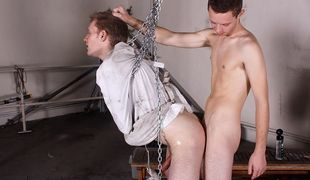 New boy Drenon isn't going to be broken in easy by horny dominant Aiden