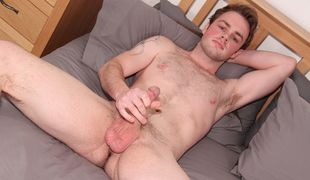 Exhibitionist bi guy Ty is so into showing off, and he has a lot of cock to share too