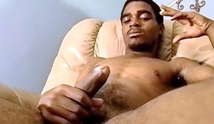 Hung black amateur guy Jeff fucks some hot white ass and unloads hard and messy!