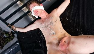 Sebastian is the master of making boys cocks unload and making them writhe with agony