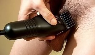 Shaving And Stroking With Wiley - Wiley