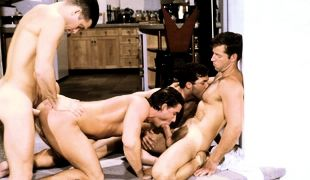 Sam Crockett, Jake Taylor, Rick Matthews, Steve Cannon