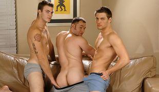 Andrew Blue, Christian Wilde & Tex Ryder